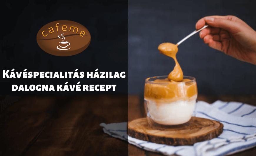 dalgona kávé recept