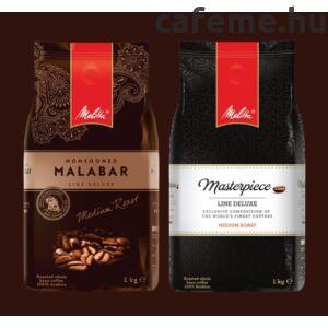 Monsooned Malabar + Masterpiece DUO szemes kávé (2000g)+ ajándék tea