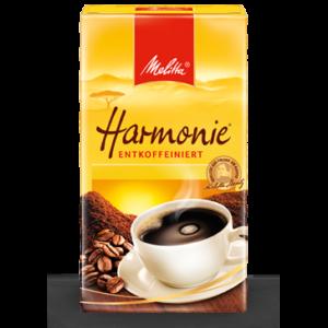 Melitta Harmonie koffeinmentes őrölt kávé (500g)
