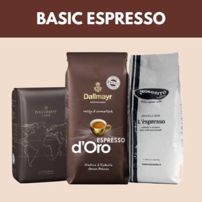 Basic Espresso szemes kávéválogatás