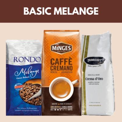 Basic Melange szemes kávéválogatás