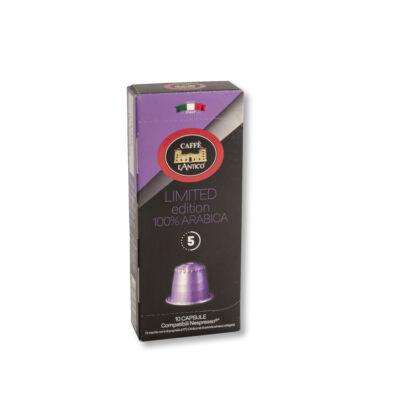 L'Antico Limited edition 100% arabica nespresso kompatibilis kávékapszula /10x10 db/
