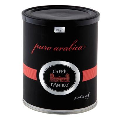L'Antico puro arabica black őrölt kávé (250g)