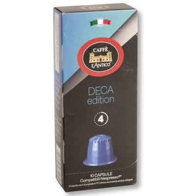 L'Antico Deca Edition koffeinmentes Nespresso kompatibilis kávékapszula