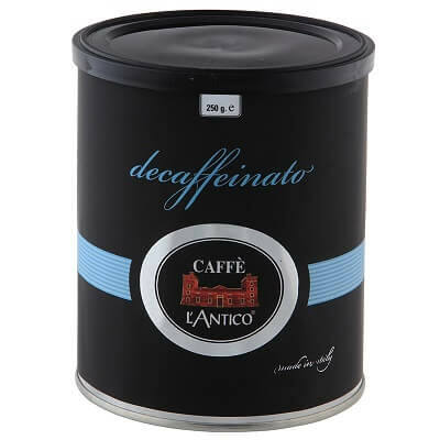 L'Antico Black decaffeinato koffeinmentes szemes kávé 250g