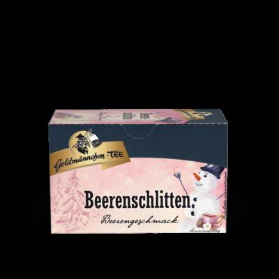 Winter Beeren-Schlitten