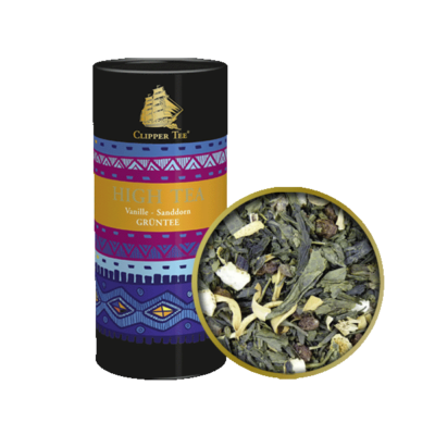 Clipper TEE- zöld  szálas tea vanília-homoktövis