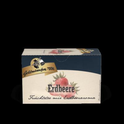 Goldmännchen Erdbeere gyümölcstea