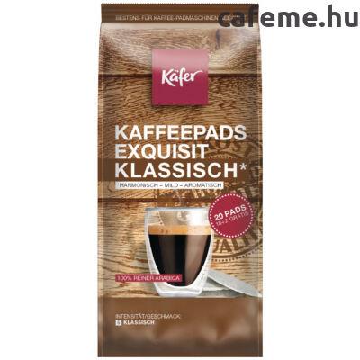 Käfer Exquisit Klassisch - Senseo kompatibilis kávépárna (20 db)