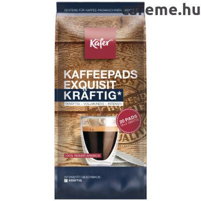 Käfer Exquisit Kräftig - Senseo kompatibilis kávépárna (20 db)