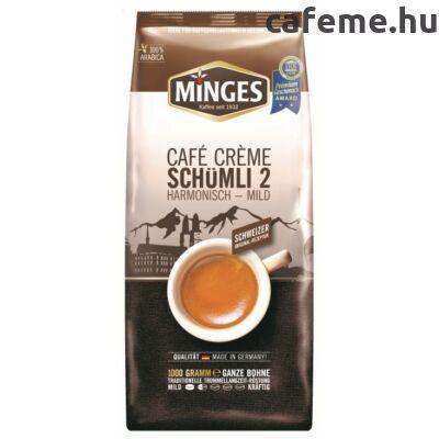Minges Caffe Crema Schümli 2 szemes kávé 1000g