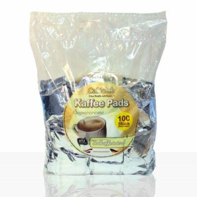 Caféclub Supercreme Koffeinmentes - Senseo kompatibilis kávépárna (100 db)