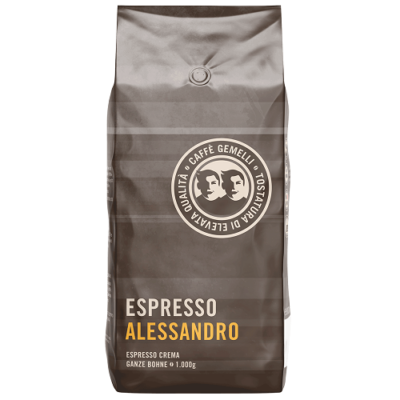Caffé Gemelli Espresso Alessandro szemes kávé