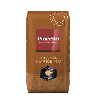 Piacetto Supremo Caffé Crema szemes kávé 1000g
