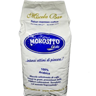 Morosito ARABICA 100 % szemes kávé 1000g