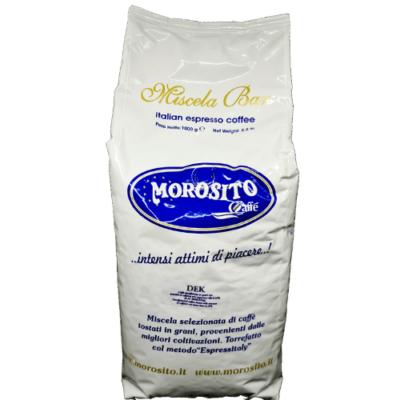 Morosito Decaffeinato  koffeinmentes szemes kávé (1000g)