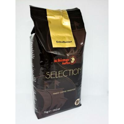 Schirmer Selection koffeinmentes szemes kávé 1000g